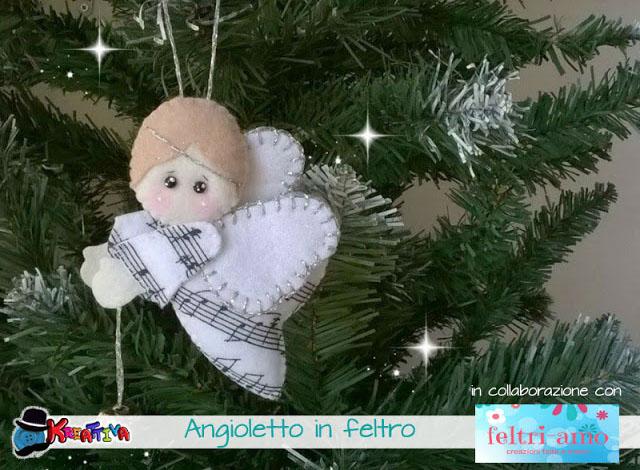 Angelo in feltro