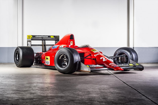 1989 Ferrari 640 F1 for sale at ART & REVS - #Ferrari #F1 #motorsport #forsale