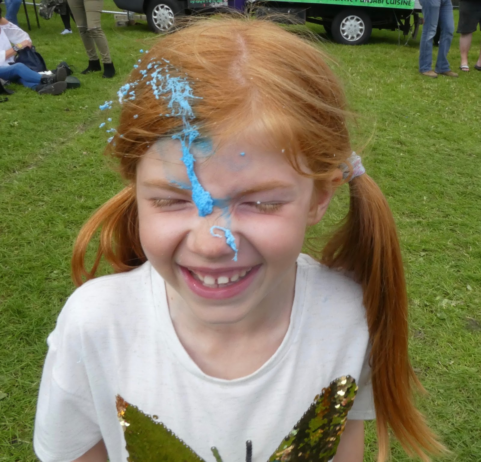 Corbridge Festival 2016 - A Review - Silly string