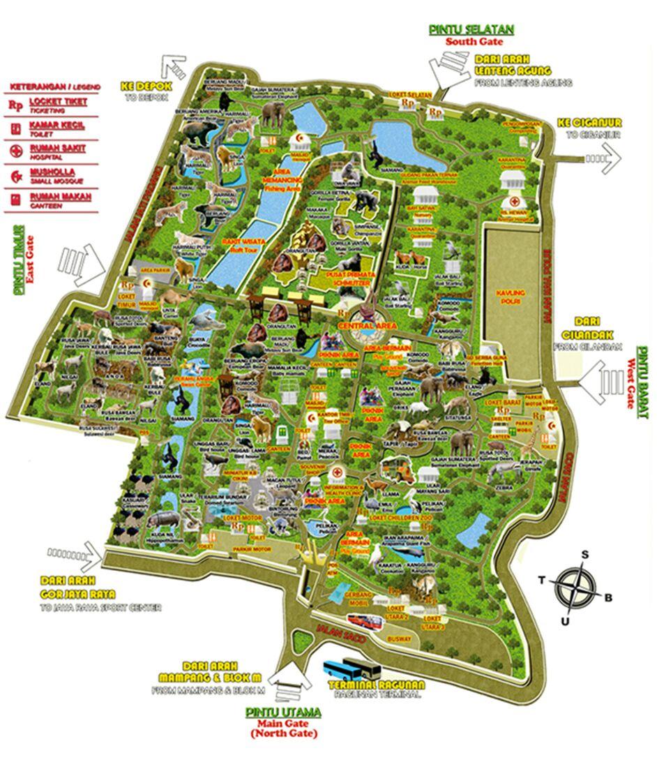 ATASHI NO HEYA DESU: Liburan Seru Di Kebun Binatang Ragunan