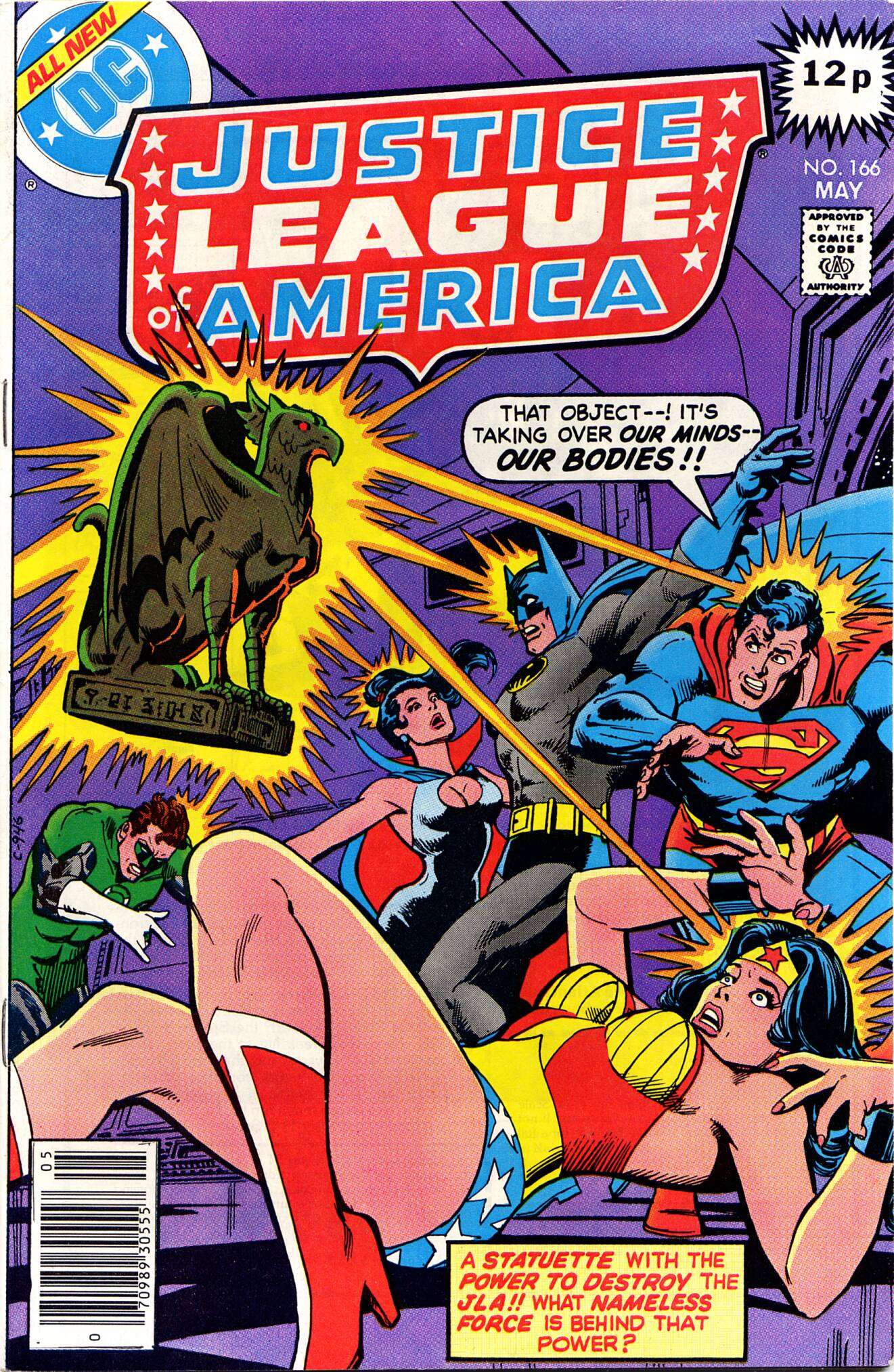 Justice League of America (1960) 166 Page 1