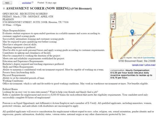 Jobs hiring in houston tx craigslist