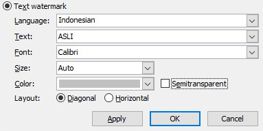 Cara membuat gambar background di Microsoft Word