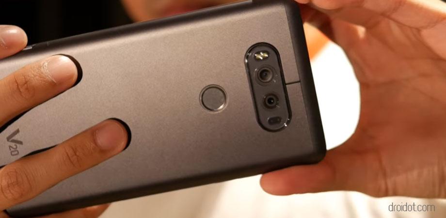 LG v20 Kualitas hasil kamera sangat jernih