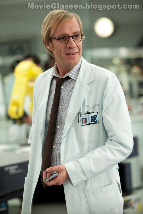 Rhys Ifans as Dr. Curt Connors wearing Oliver Peoples Glasses in The Amazing Spider-Man