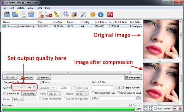 Download Caesium Image Compressor