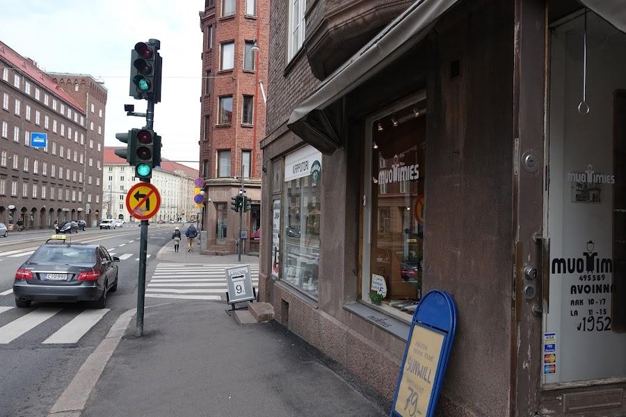 ヘルシンキ Runebergsgatan