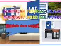 Download panduan belajar microsoft word dengan mudah dan cepat