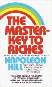http://www.amazon.com/Master-Key-Riches-Napoleon-Hill/dp/0449213501