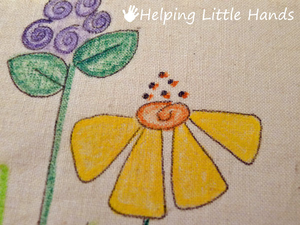 Pieces by Polly: Faux Embroidery Tutorial