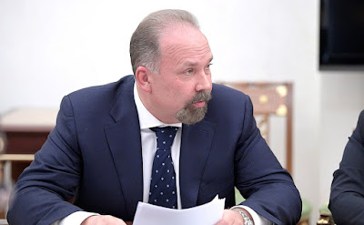 Minister of Construction and Housing and Utilities Mikhail Men.