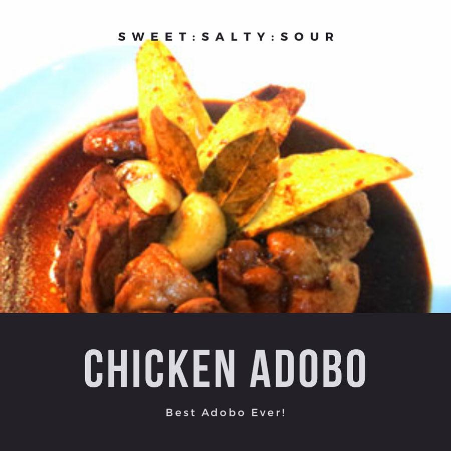 Chicken Adobo Recipe (the best adobo ever!)