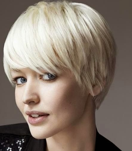 blonde and copper highlights | Asymmetrical Short Haircuts « VIP Hairstyles  See more http://www.womensandmenshairstyle.net/