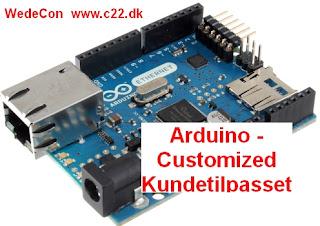 Arduino custom-made elektronikudvikling prototypeudvikling