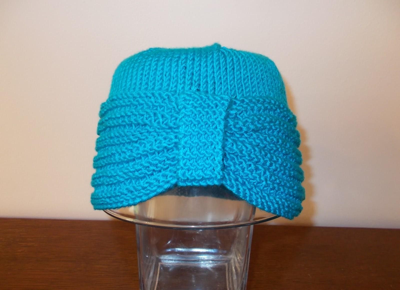 Marianna\'s Lazy Daisy Days: Chemo Hat for Vikki