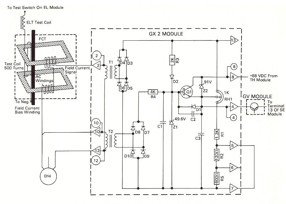 wiring diagram avr genset