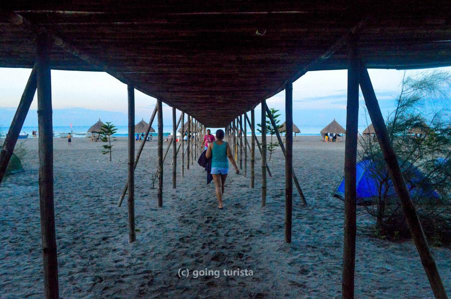 Crystal Beach San Narciso Zambales Bamboo Shade