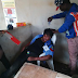 PHOTO: Police woman collapses due to excessive heat at polling unit in Ogun