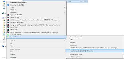 Cara Membuka File ISO Dengan Power ISO