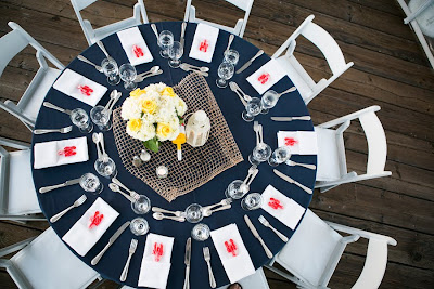 Clambake wedding from Good Gracious! Events