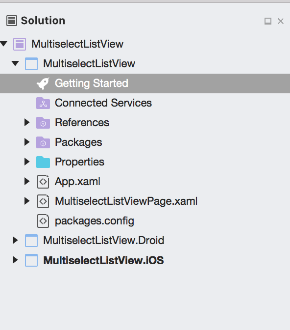 Android With Ashray: Multiselect List View Using Xamarin Forms