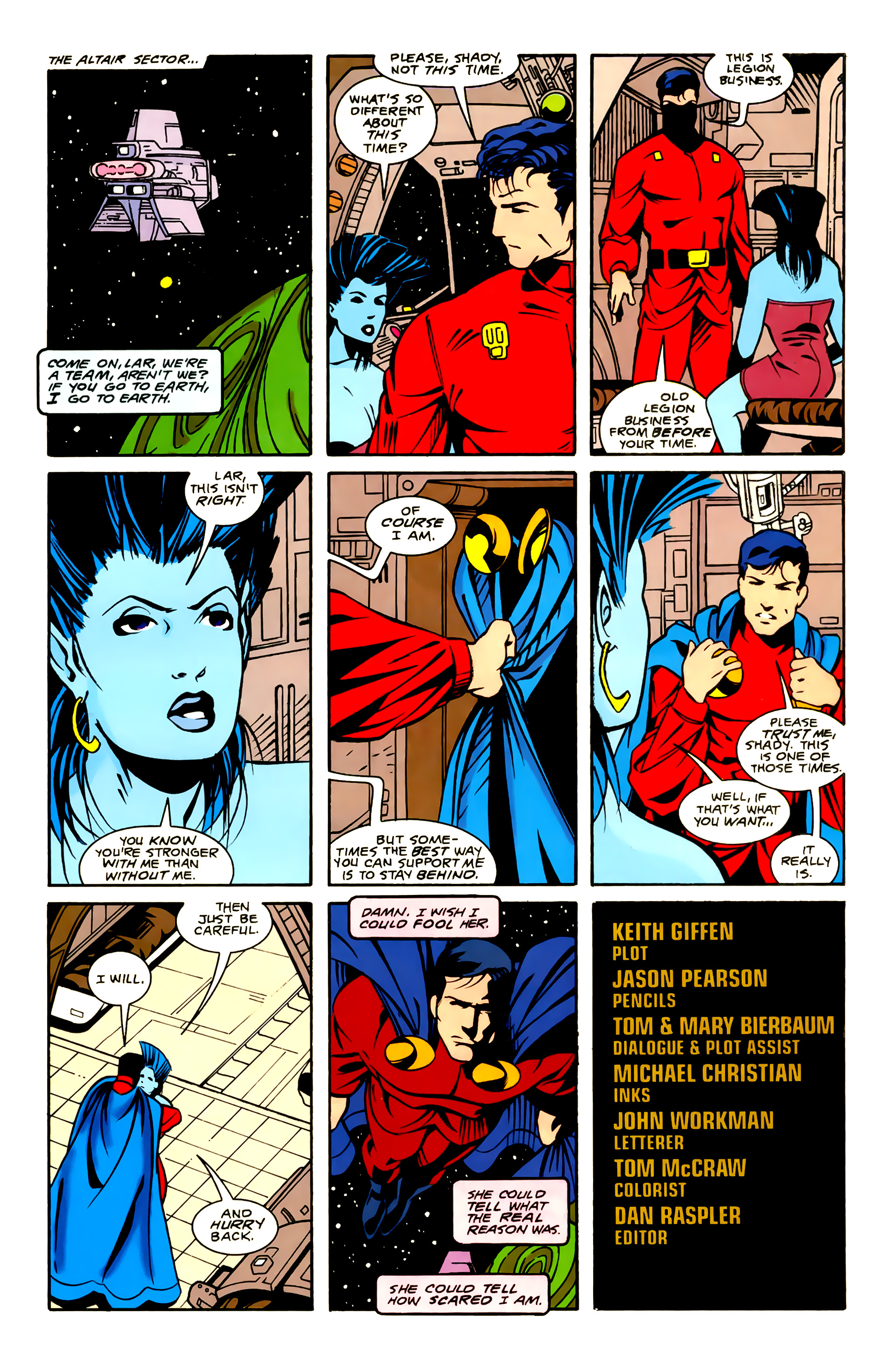 Legion of Super-Heroes (1989) 23 Page 23