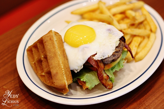 Waffle Burger IHOP PH