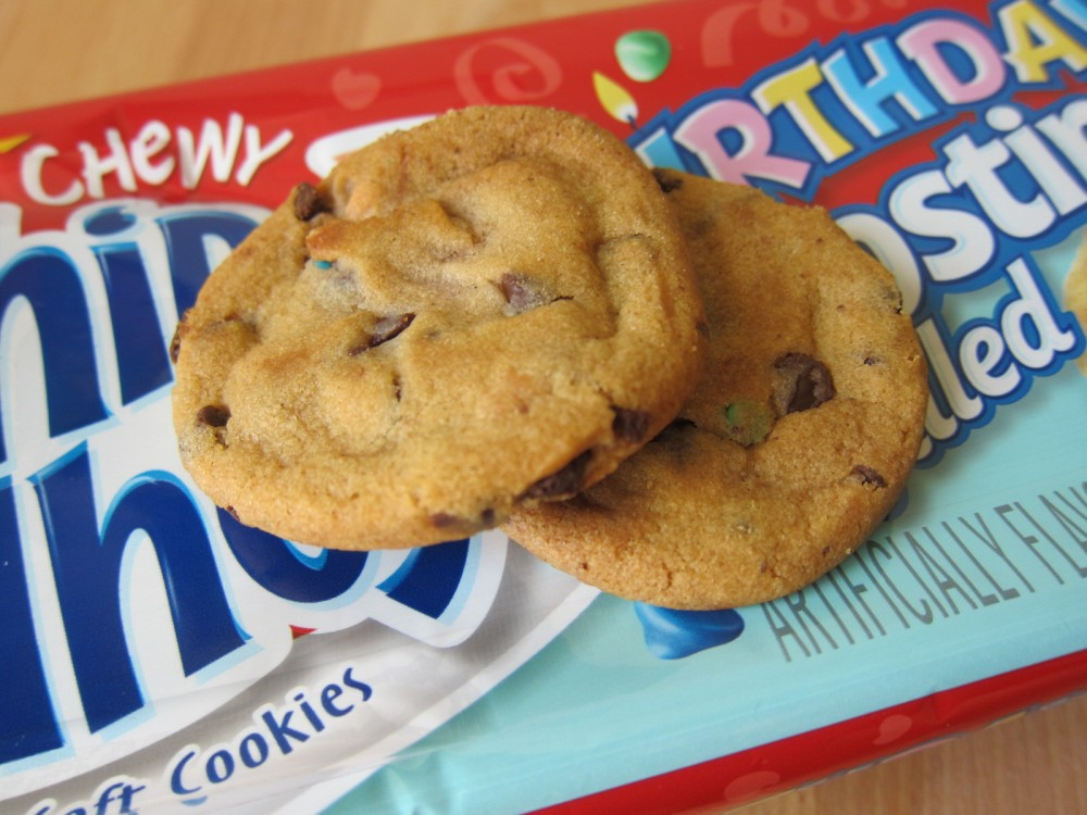 Magnificent Review Nabisco Birthday Frosting Filled Chips Ahoy Cookies Funny Birthday Cards Online Fluifree Goldxyz