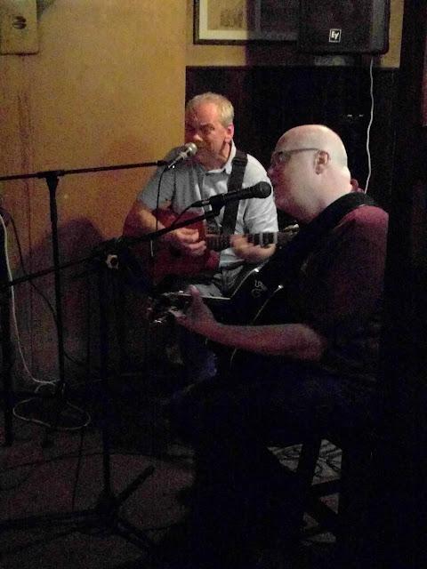 Band at Thomas Connolly Pub in County Sligo