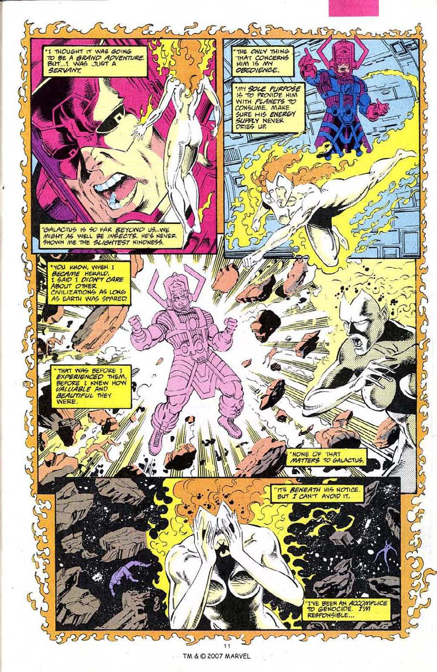 Read online Silver Surfer (1987) comic -  Issue #68 - 13