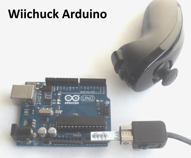 Adaptador Wiichuck Arduino
