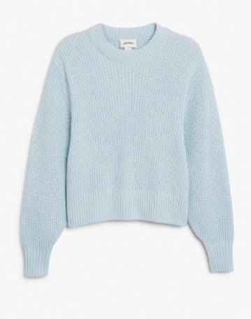 Monki Blue Knit - My Top High Street Finds #3 - The Autumn Edit // Lauren Rose Style // Fashion Blogger London Wishlist