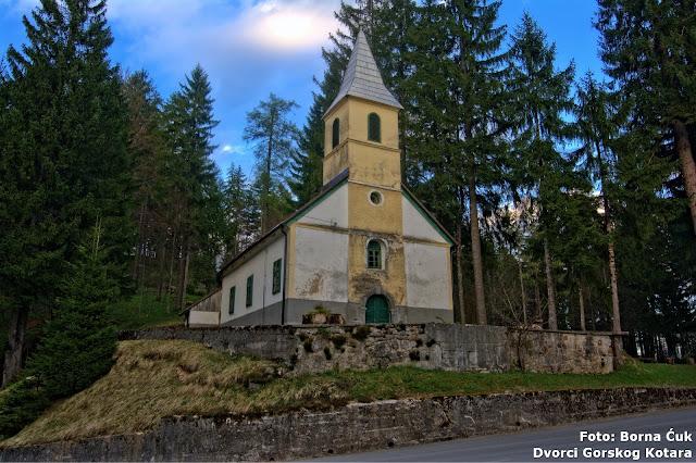Kapela sv. Antuna Padovanskog Stara Sušica (c) Borna Ćuk
