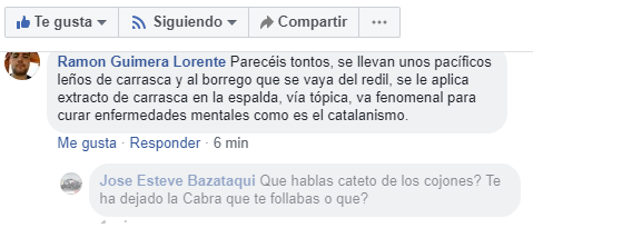 José Esteve Bazataqui VS Ramón Guimerá Lorente