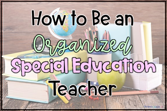 Keeping special ed program modifications, testing accommodations, and goals organized