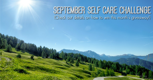 September Self Care Challenge