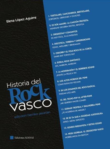 Historia del Rock Vasco liburua