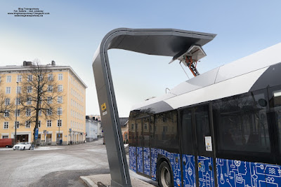 Solaris Urbino 12 electric, Tampere, Finlandia.