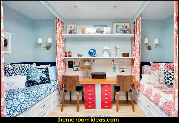 Decorating theme bedrooms maries manor shared bedrooms for Bedroom ideas for a small room for a teenager