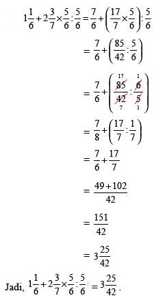 Menghitung Pecahan Campuran : menghitung, pecahan, campuran, Menghitung, Pecahan, Matematika, Beserta, Contoh, Jawaban