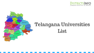 Telangana Universities List