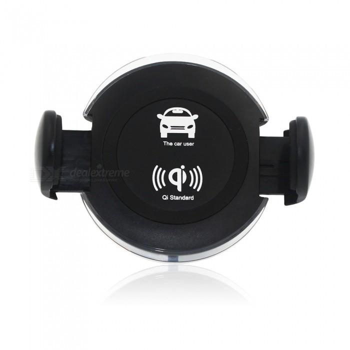 Oferta para Cargador sin hilos giratorio del coche + ventilador del aire  con el sostenedor de la taza de la succión más barato 4dcaeb2e4608