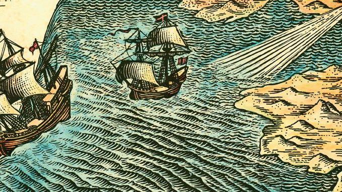 Ideias antigas antes da exploração dos mares do mundo