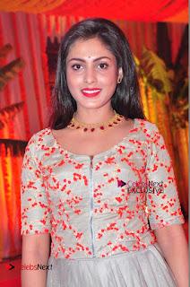 Actress Madhu Shalini Exclusive Stills in Party Dress at Vijay Karan Aashna Wedding  0032.JPG
