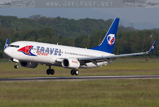 Boeing 737-800 of Travel Service