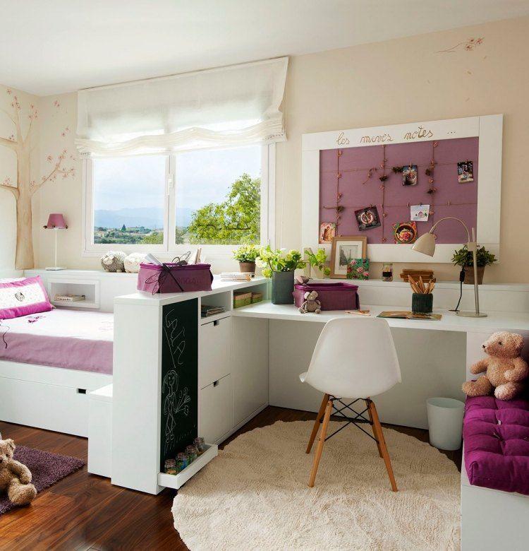 Muebles para dormitorios juveniles peque os dormitorios - Habitaciones juveniles espacios pequenos ...
