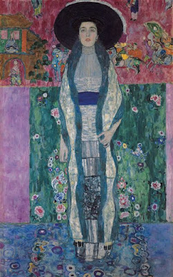 Klimt -Portrait of Adele Bloch-Bauer,1912