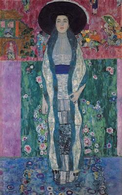 Klimt -Portrait of Adele Bloch-Bauer,1912