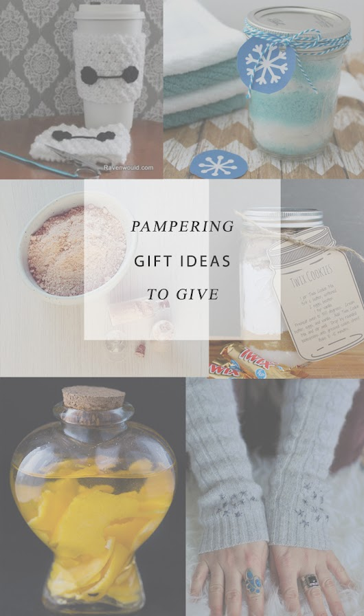 Architecture of a Mom: Pampering Gift Ideas and A Little Bird Told Me Link Party