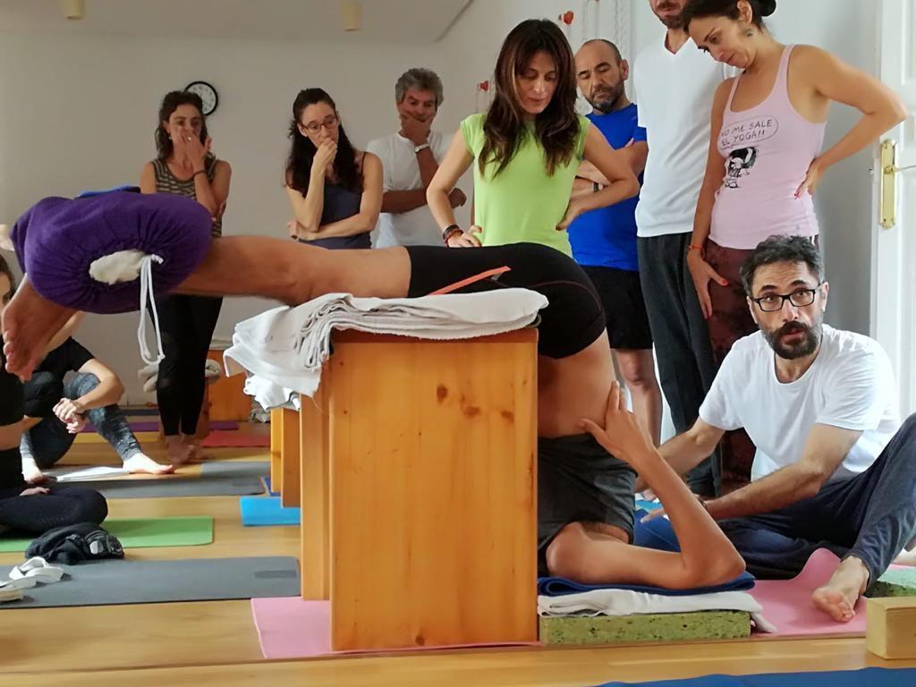 23 marzo Seminario Formativo Yoga adaptado y apoyos para la práctica de las  asanas. Rafael Valencia y Joaquín G Weil YogaSala Málaga. Calle Moreno  Monroy 5. 204505e3fa12